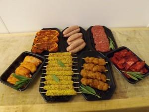 banquet bbq pack